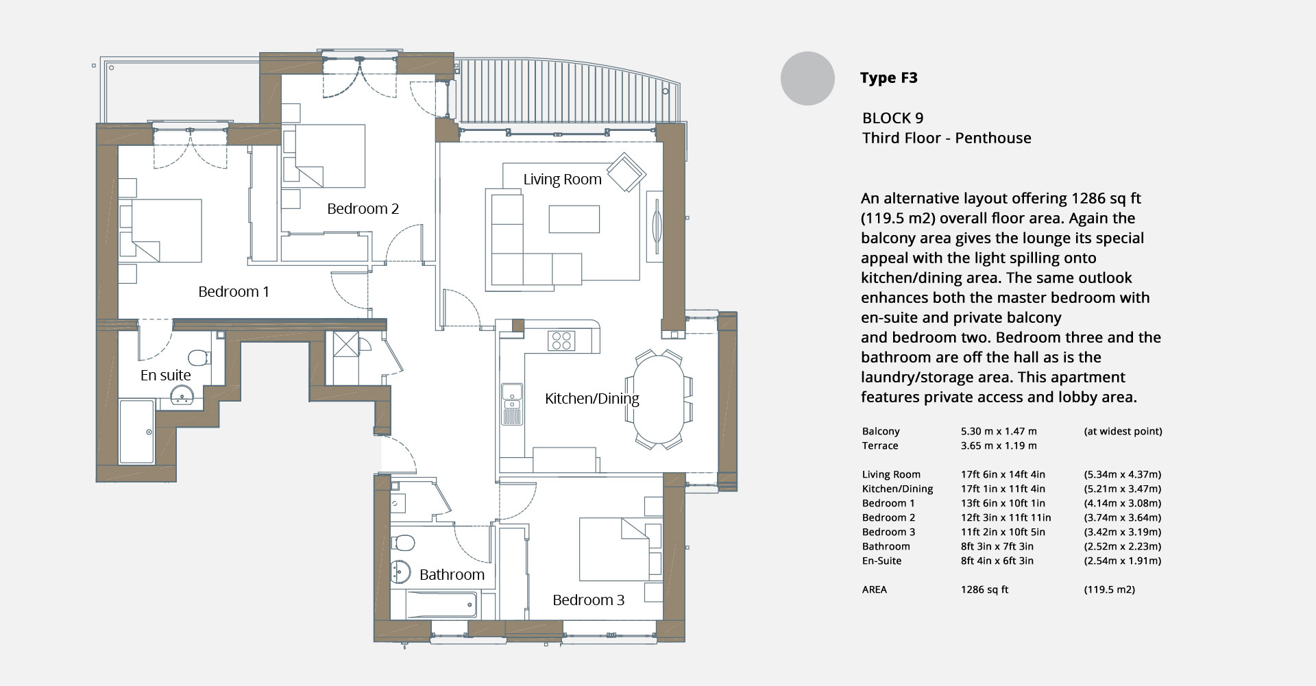 Gantocks FloorPlan F3